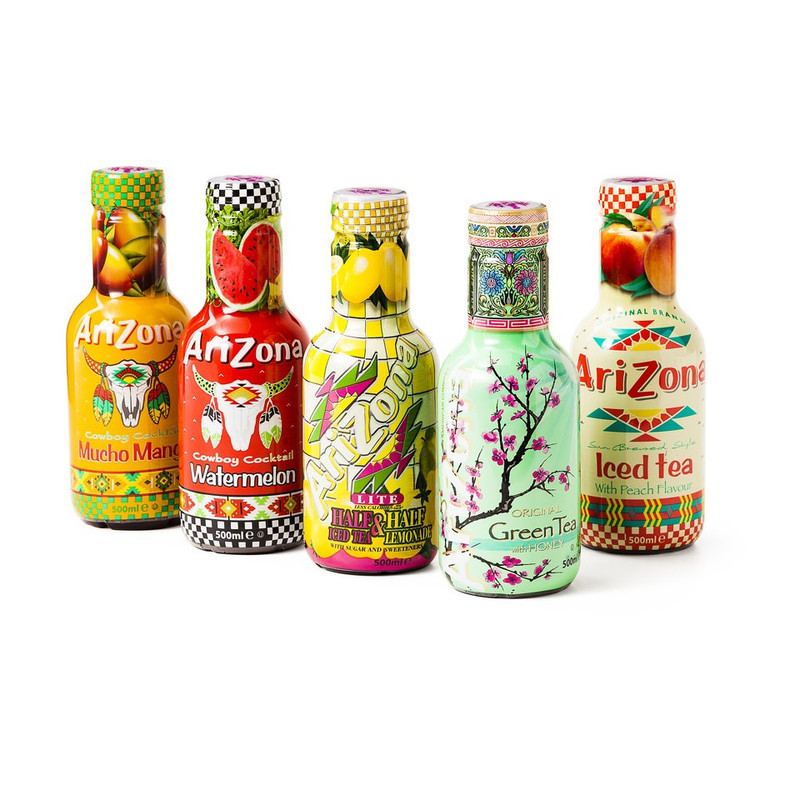 AriZona – Iced Tea Peach – 500 ml