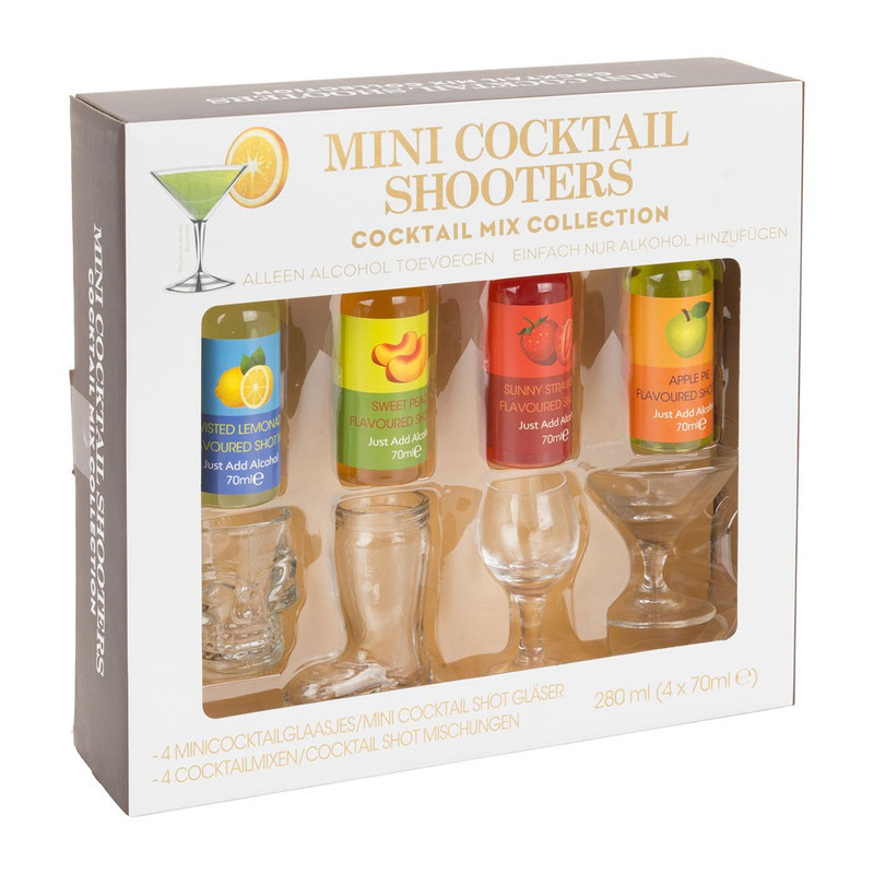 Mini cocktail box