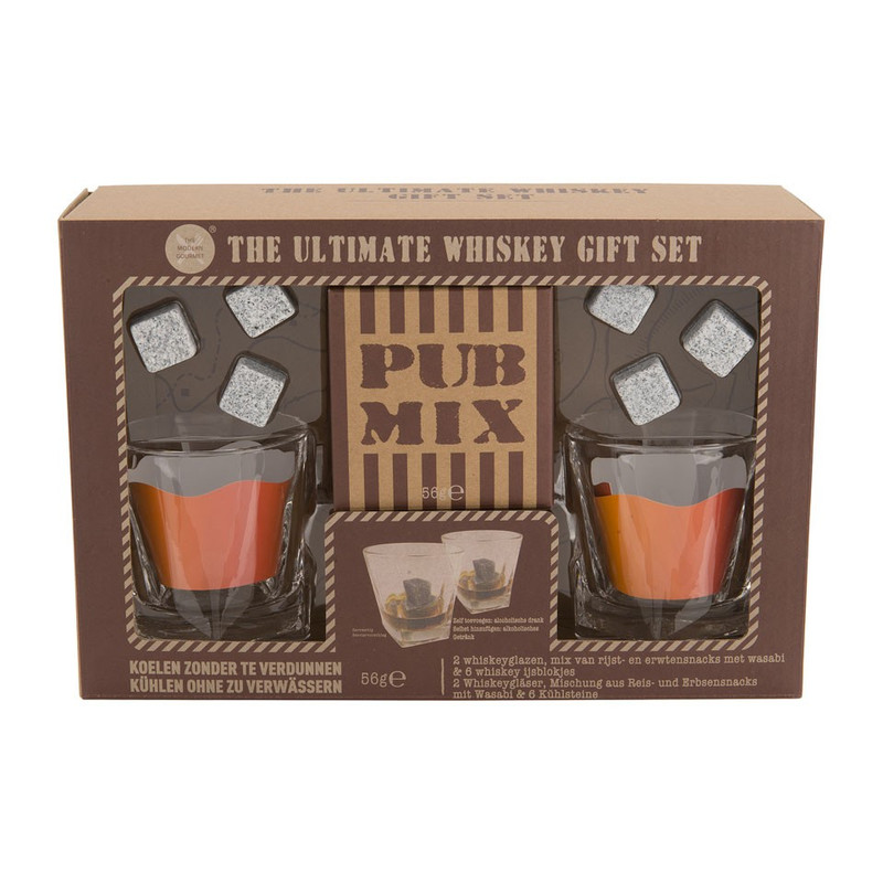 Giftset whiskey