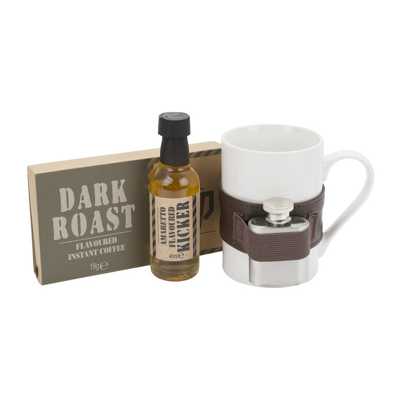 Cadeauset dark coffee booze