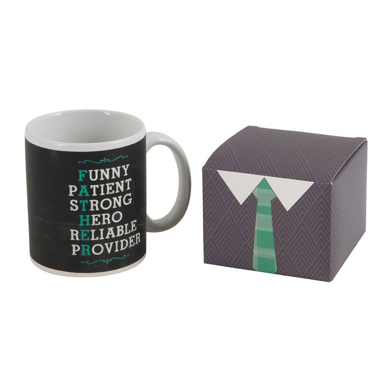 Mok met koffiemix - cadeauset voor vaders