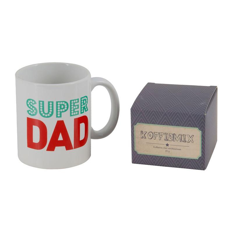 Mok superdad - cadeauset