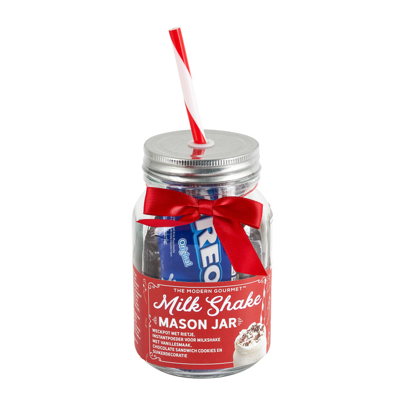 Mason jar set - milkshake - 112,5 g