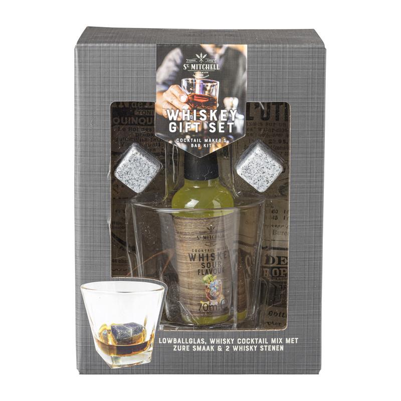 Whiskey gift set - 70 ml