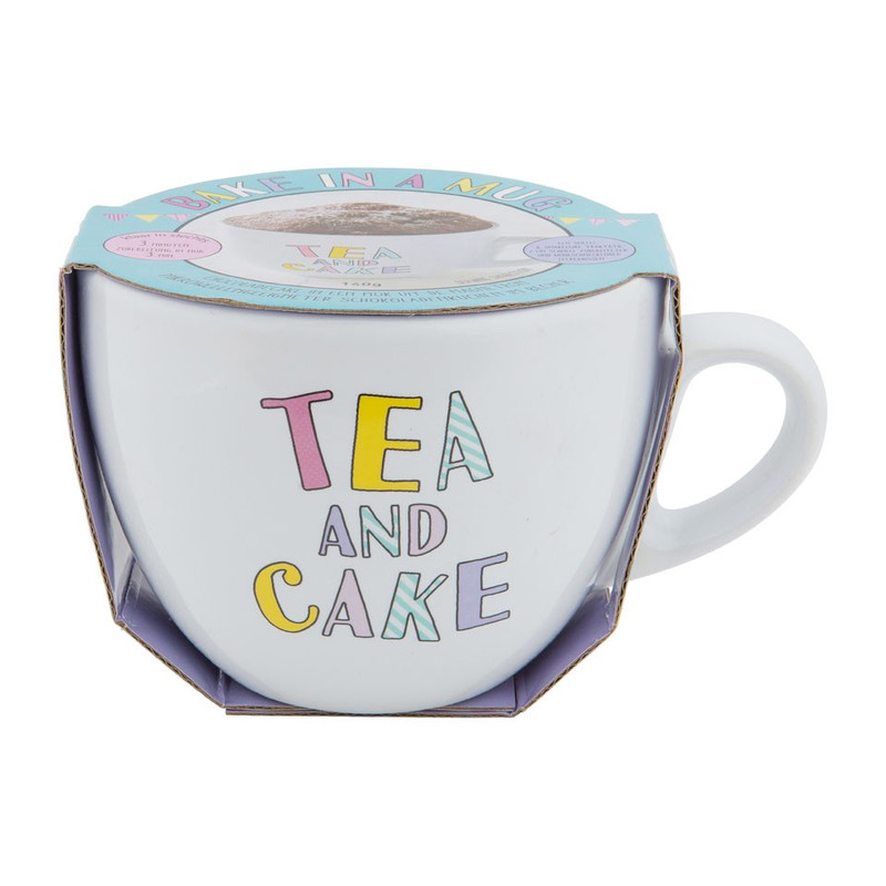 Mug cake - Tea and cake