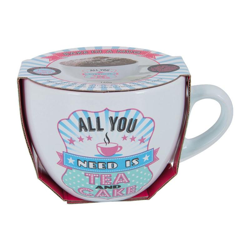 Mug cake - All you need is tea and cake