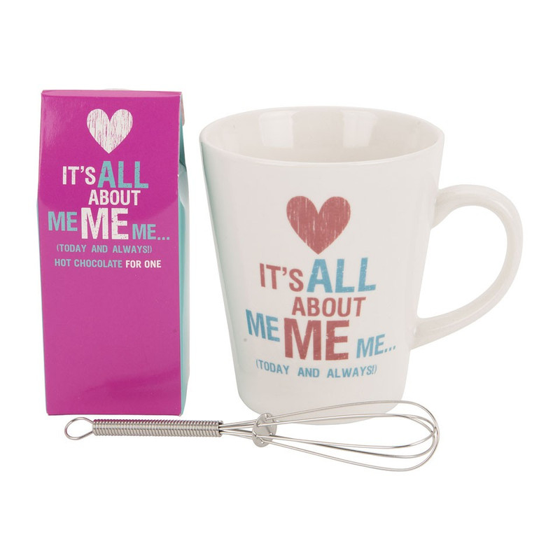 Giftset mok – It's all about me me me