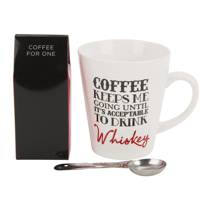 Giftset mok - coffee keeps me going until…