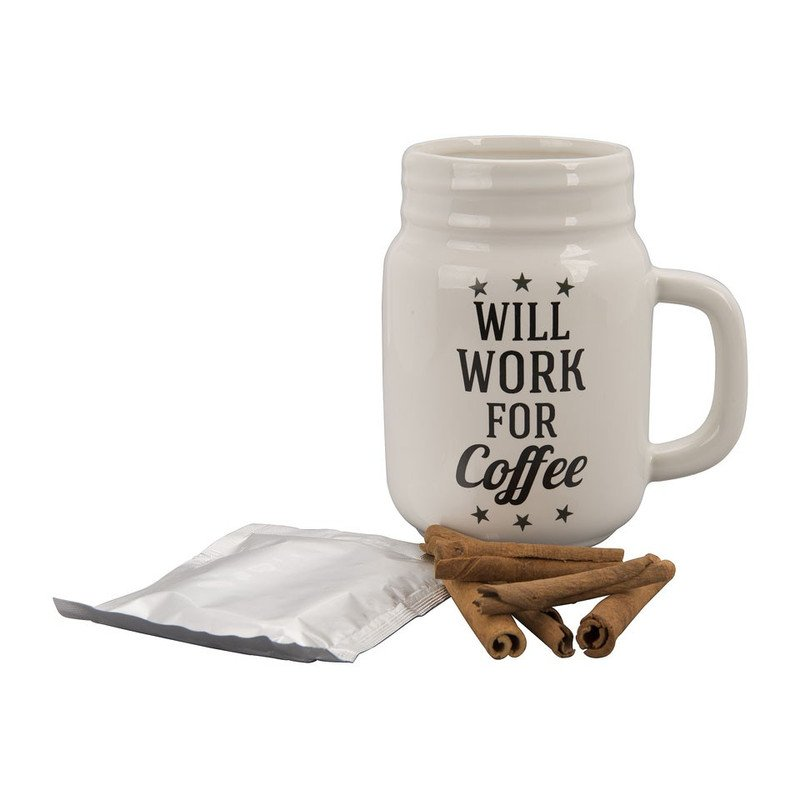 Cadeauset Mason Jar - coffee
