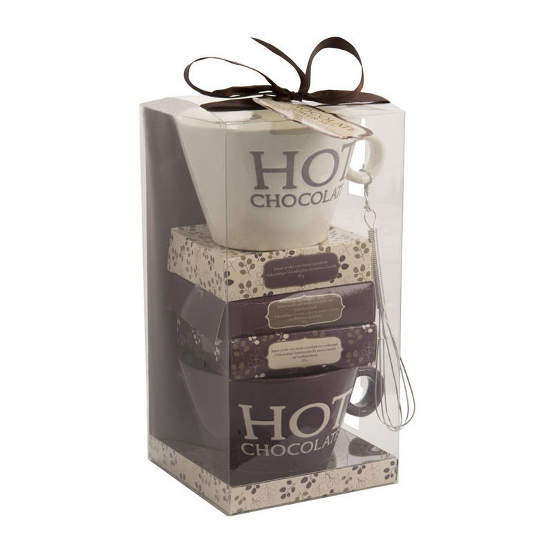 Cadeauset tower - hot chocolate