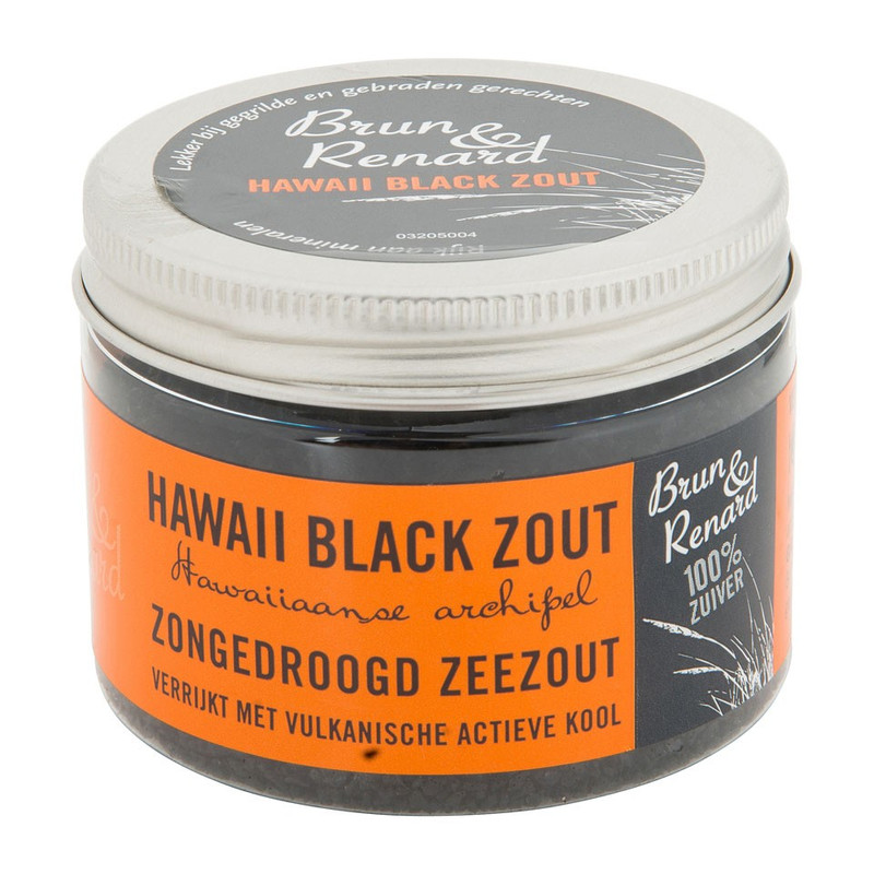 Hawaii black zout – 125 gram