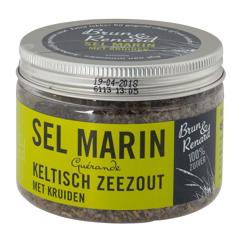 Keltisch zeezout – Sel Marin met kruiden – 100 gram