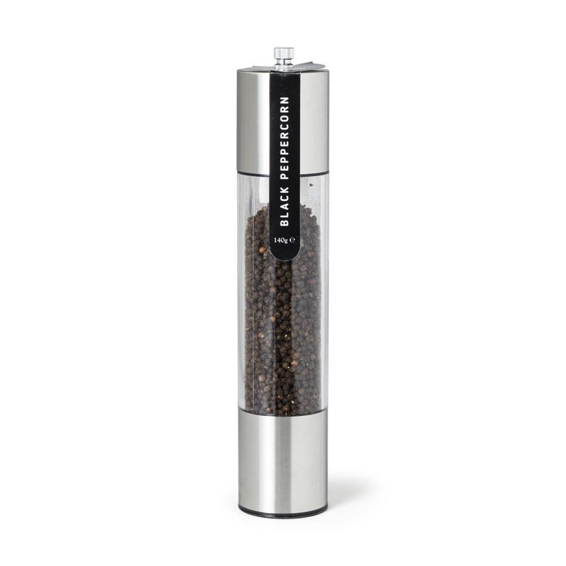 Pepermolen - zilver - 30 cm