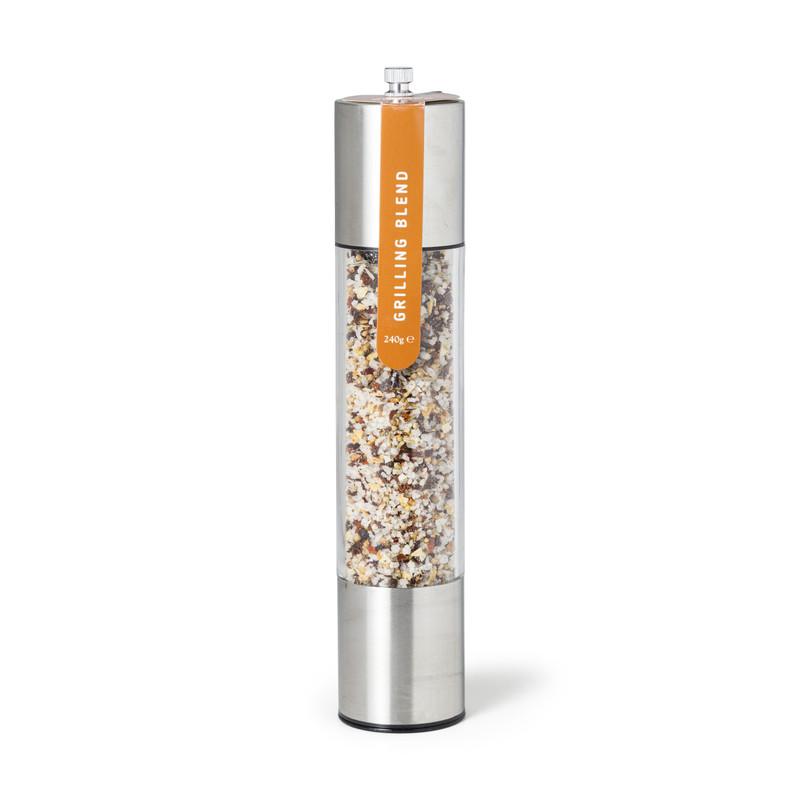 Kruidenmolen - zilver - 30 cm