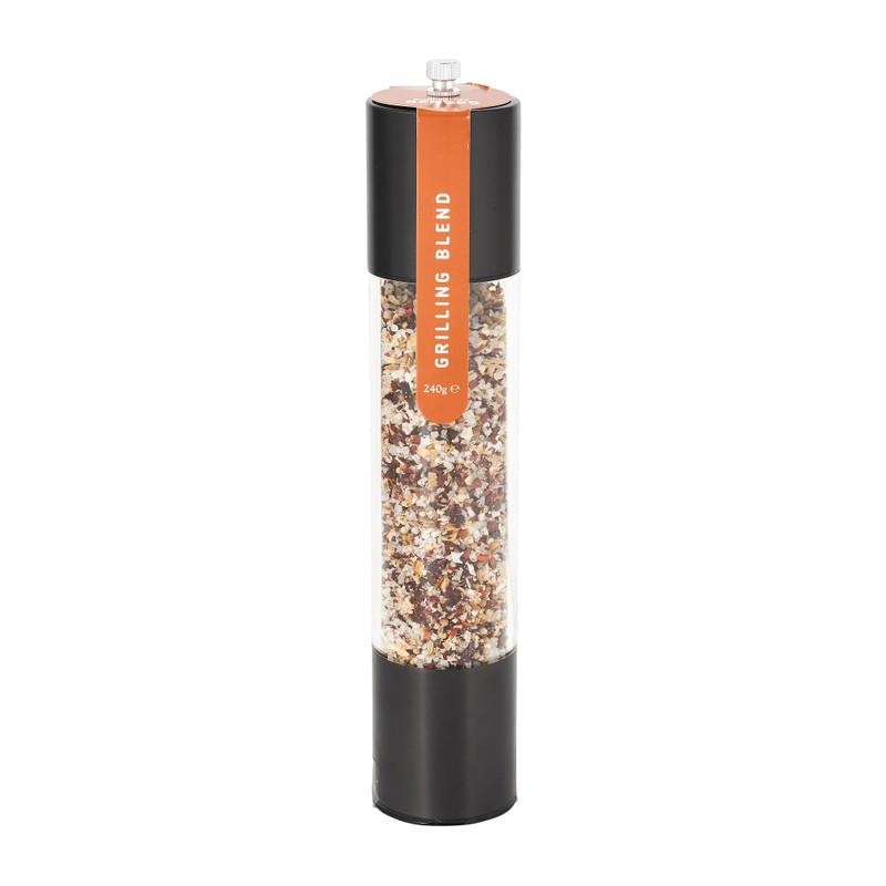 Kruidenmolen - mat zwart - 30 cm