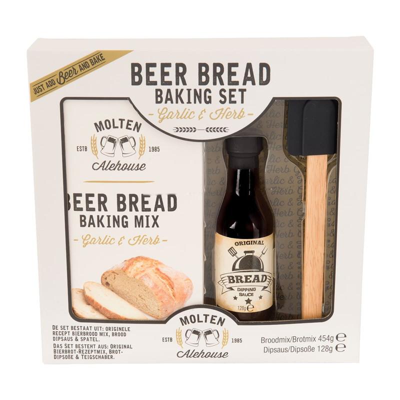 Bierbrood bakmix set - Garlic & Herbs