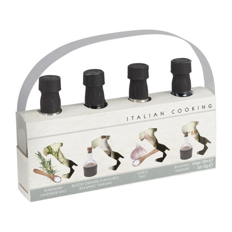 Italiaanse kruiden zout en azijn
