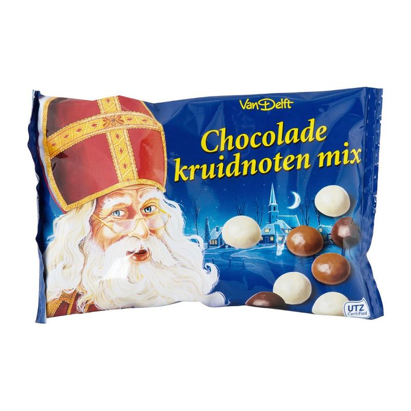 Chocolade kruidnoten mix