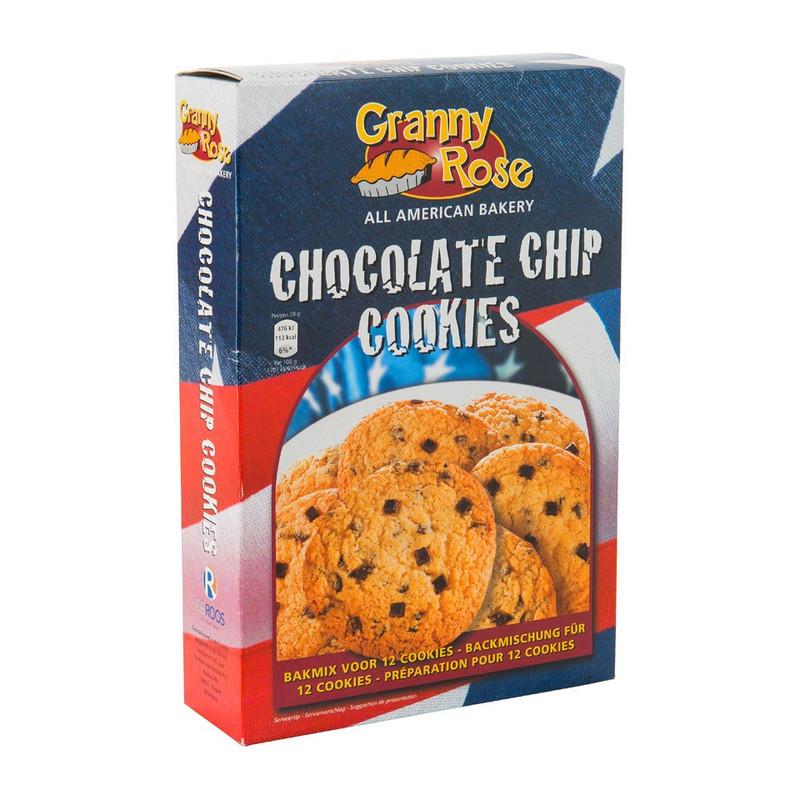Bakmix - chocolate chip cookies - 300 gram