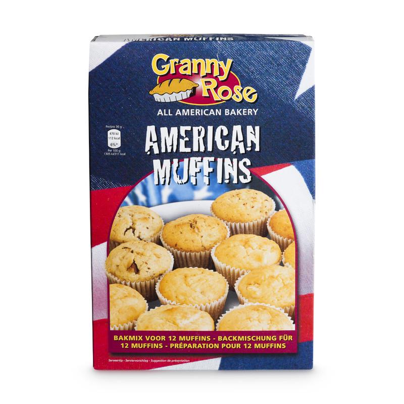 Bakmix - American muffins - 250 gram