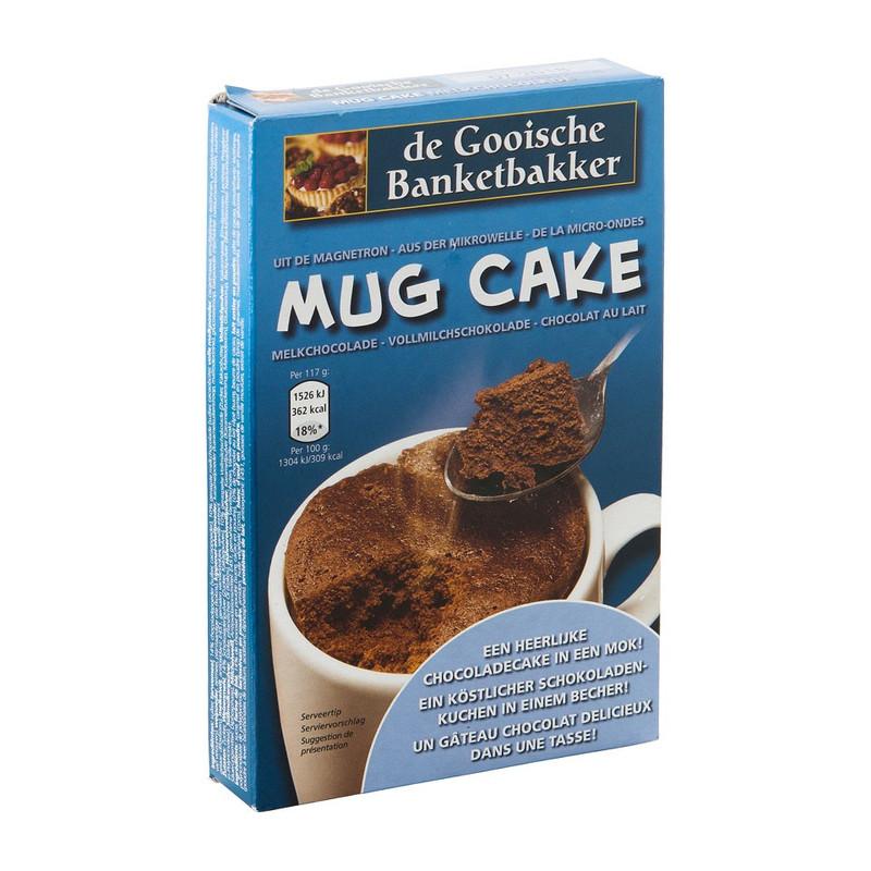 Mug cake – melk chocolade