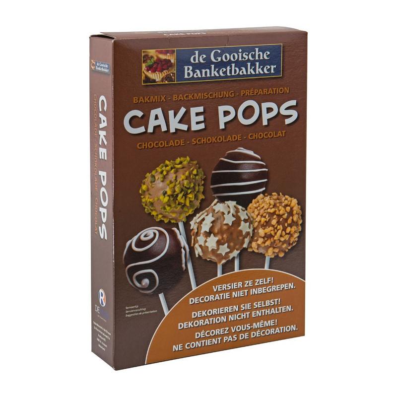 Cake pops bakmix - chocolade