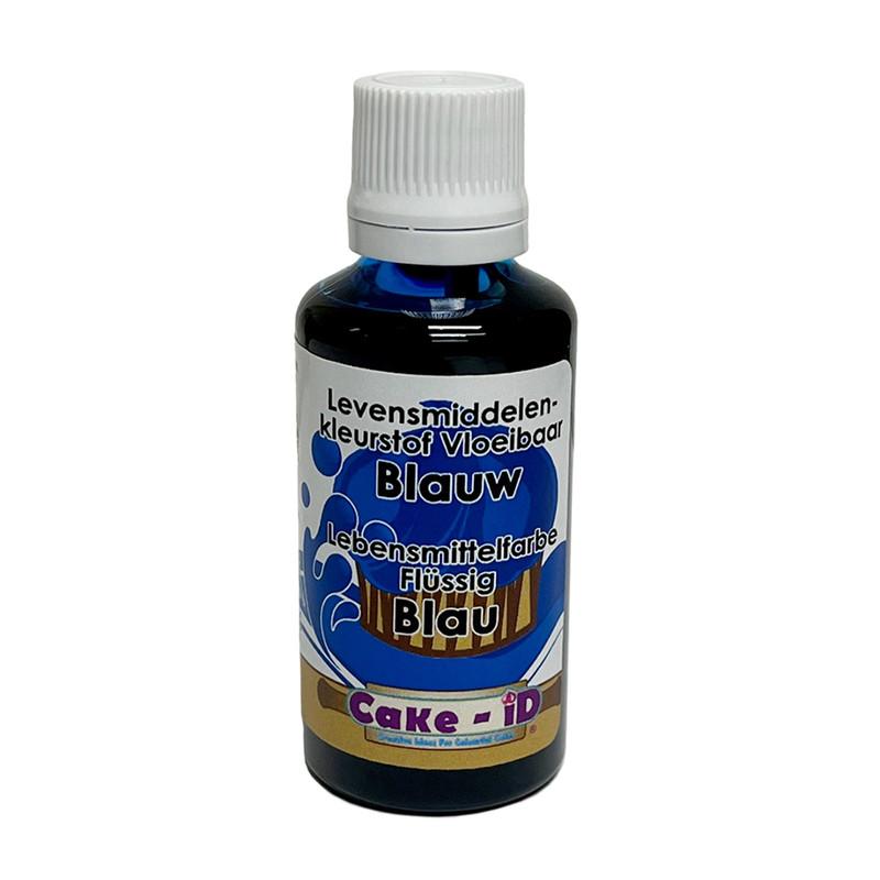 Vloeibare kleurstof - blauw - 50 ml