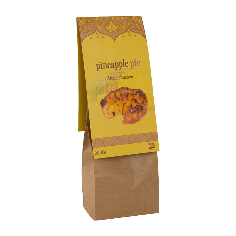 Taartmix ananas - 200 gram