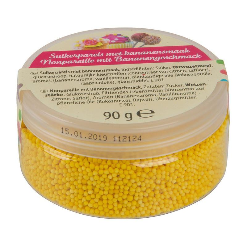 Suikerparels - banaan - 90 gram