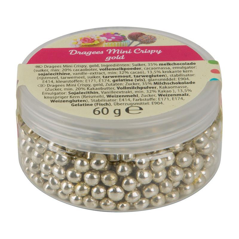 Crispy goudparels - 60 gram