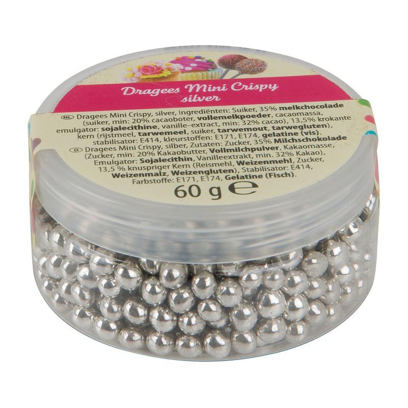 Crispy zilverparels - 60 gram