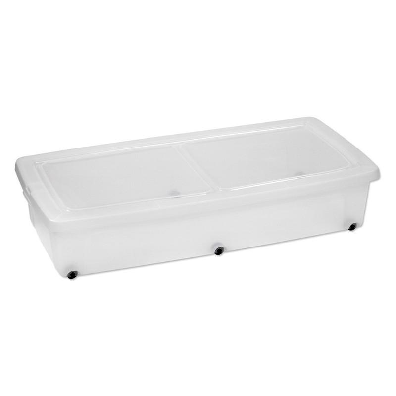 Iris clearbox onder-het-bed - 35 liter - set van 2