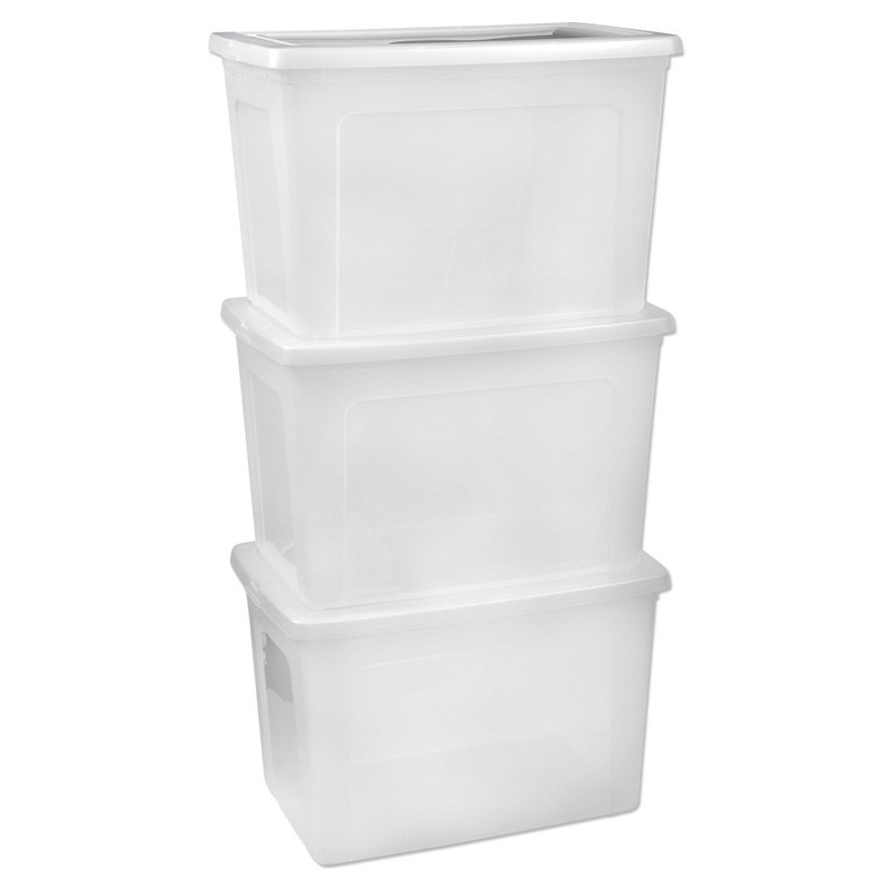Iris clearbox - 70 liter - set van 3