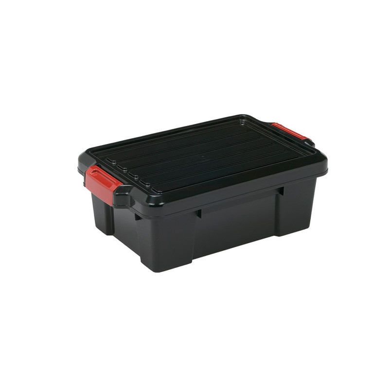 Iris powerbox met deksel - 12.5 liter - set van 2