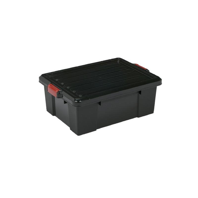 Iris powerbox met deksel - 25 liter - set van 2