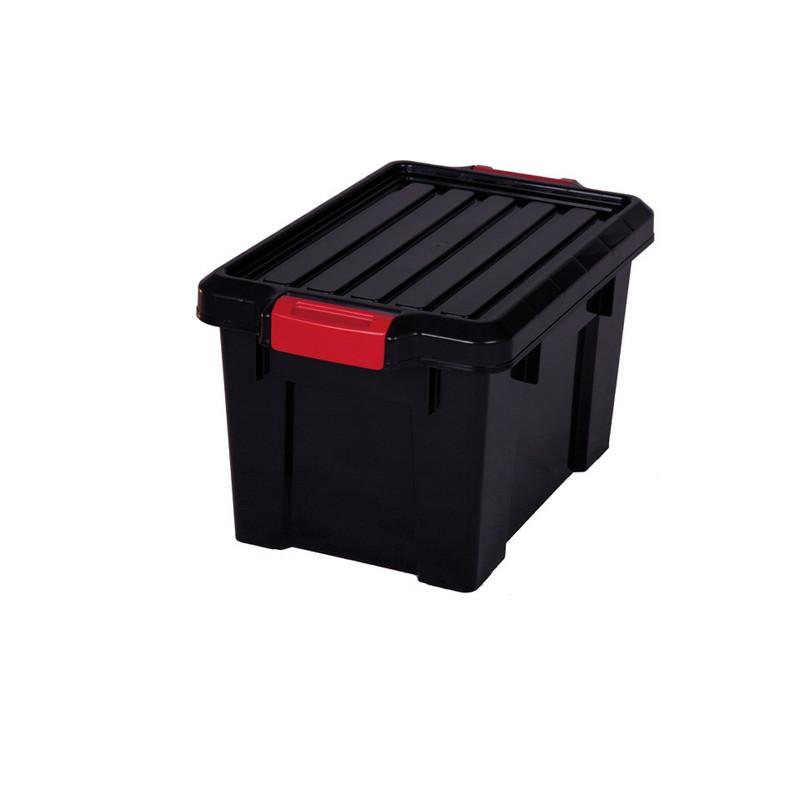 Iris powerbox met deksel - 21 liter - set van 2