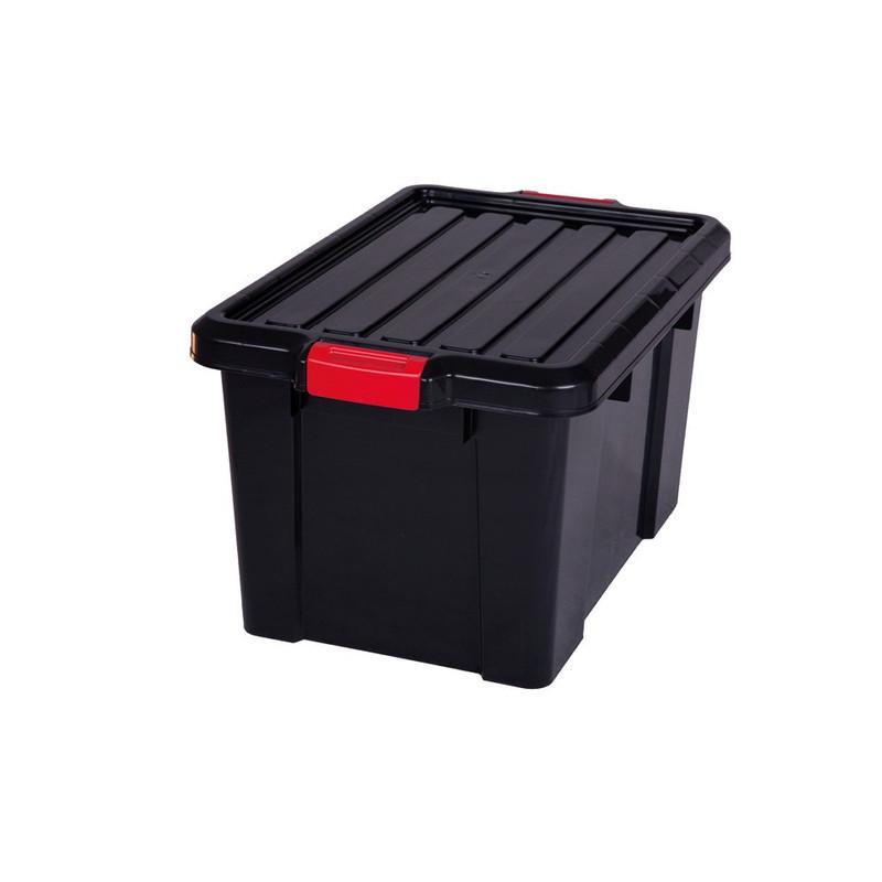 Iris powerbox met deksel - 50 liter - set van 2