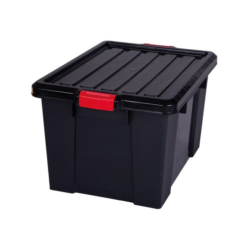 Iris powerbox met deksel - 68 liter - set van 2