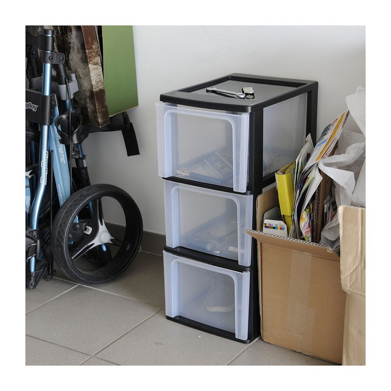 Iris  desktop - 3 lades - 13 liter