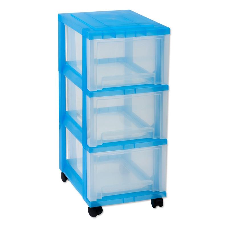 Iris ladesysteem - 3 lades - 16 liter - blauw