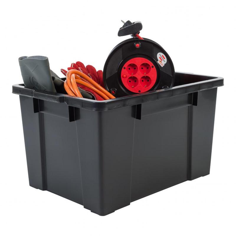 Iris powerbox met deksel - 68 liter