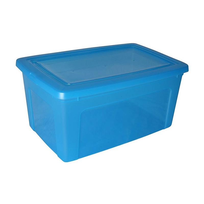 Iris clearbox - 50 liter - blauw
