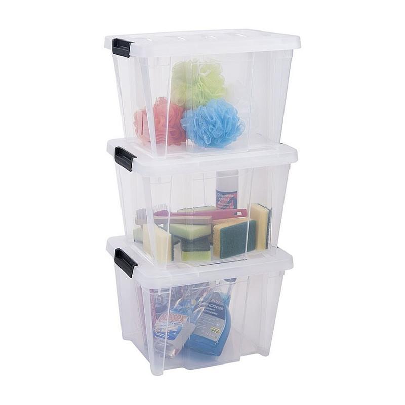 Iris clearbox - 15 liter - transparant