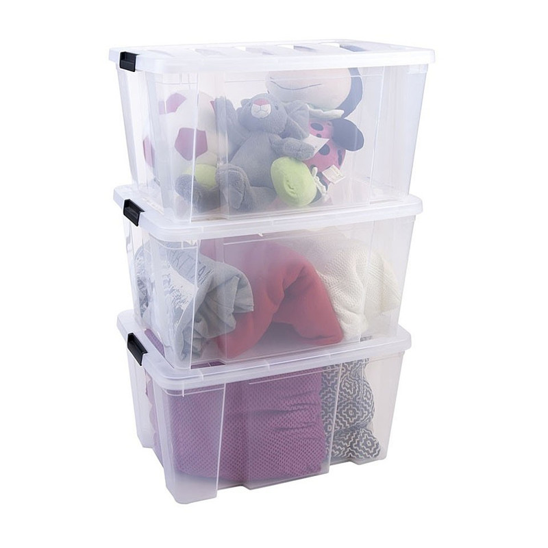 Iris clearbox - 30 liter - transparant