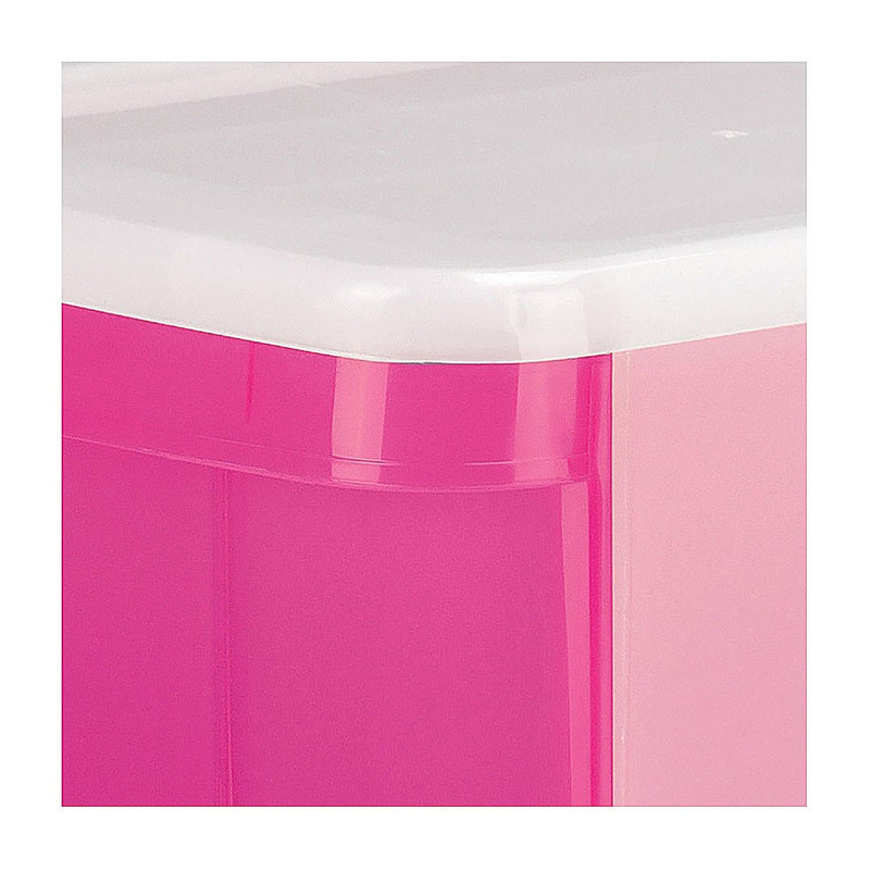 Iris ladesysteem - 11 liter - roze (oud)