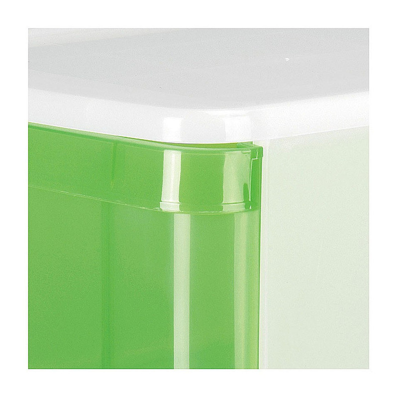 Iris ladesysteem - 11 liter - transparant (oud)
