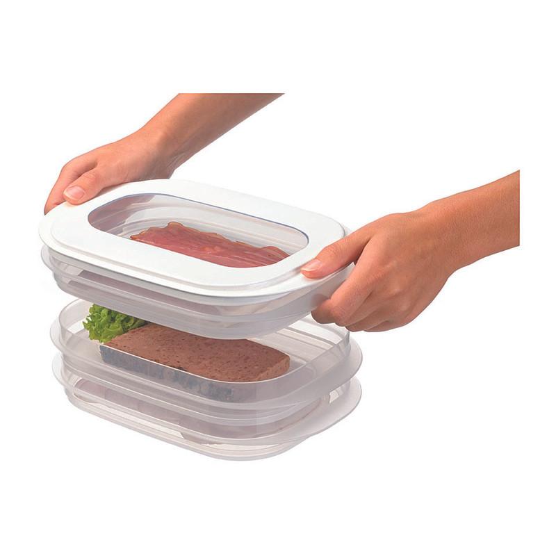 Sunware E-Claire vleeswarendoos - set van 3