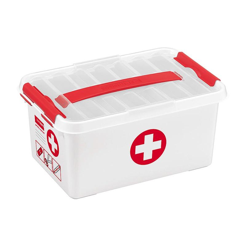 Sunware Q-line EHBO opbergbox - 6 liter