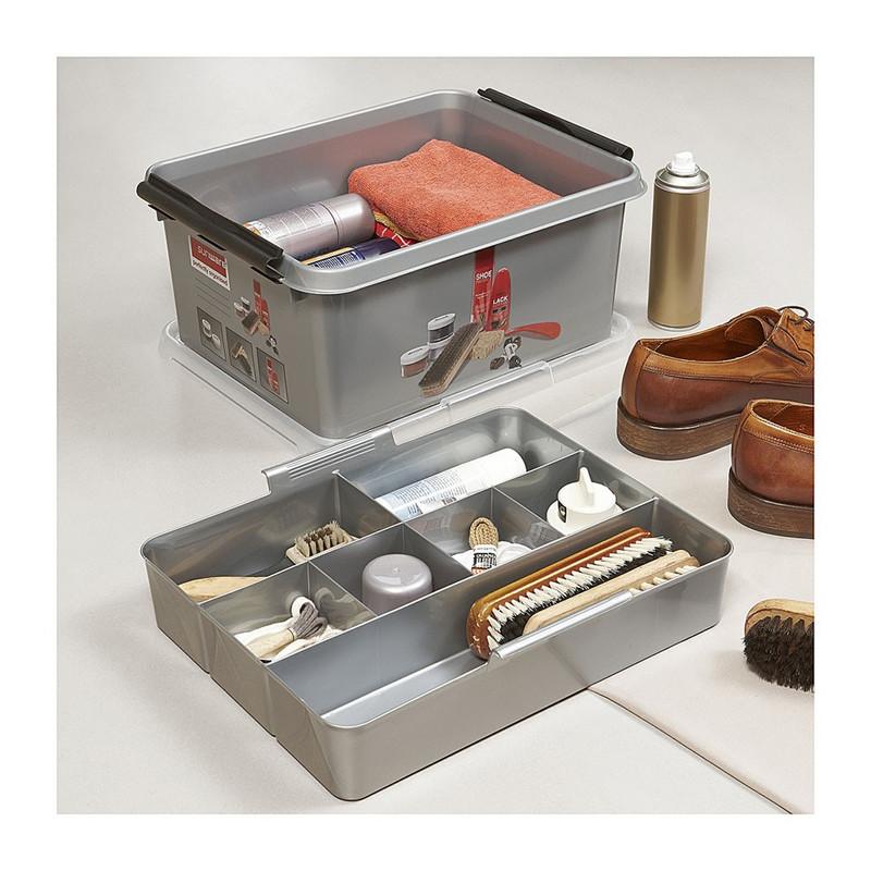 Sunware Q-line schoenenpoets multibox - 15 liter