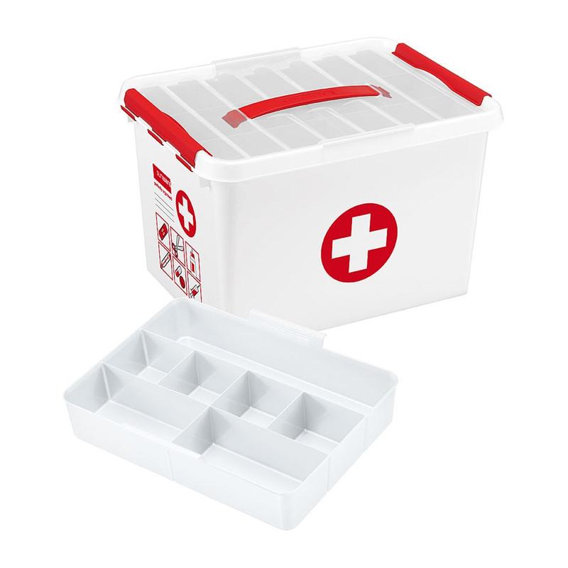 Sunware Q-line EHBO opbergbox - 22 liter